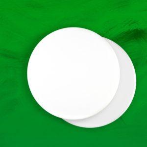 Płytki porcelanowe białe okrągłe